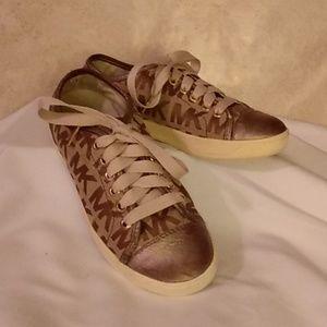 Michael Kors City Sneakers Size 5M